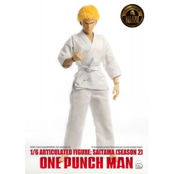One Punch Man figurine 1/6 Saitama (Season 2) Deluxe Version 30 cm