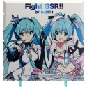 Dioramansion 150 accessoire pour figurines Racing Miku 2019 Pit Optional Panel Rd. 2 FUJI