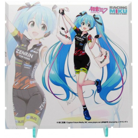 Dioramansion 150 accessoire pour figurines Racing Miku 2019 Pit Optional Panel Team UKYO Support Ver
