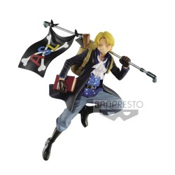 One Piece statuette PVC Three Brothers Sabo 10 cm