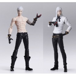 NieR Automata Bring Arts figurines Adam & Eve 16 cm