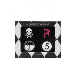 The Umbrella Academy pack 4 pin's