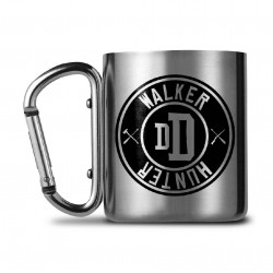 Walking Dead mug Carabiner Walker Hunter