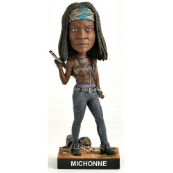 Walking Dead Bobble Head Michonne 20 cm