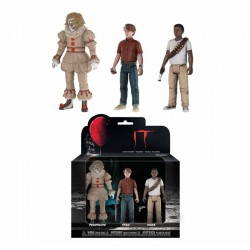« Il » est revenu 2017 pack 3 figurines Set 3: Pennywise, Stan, Mike 12 cm