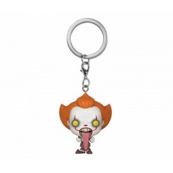 « Il » est revenu 2 porte-clés Pocket POP! Vinyl Pennywise w/ Dog Tongue 4 cm