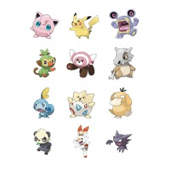 Pokémon série 6 assortiment packs 3 figurines Battle 5-8 cm (4)