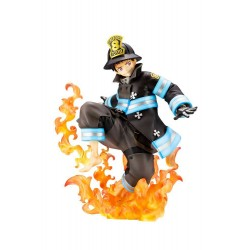 Fire Force statuette PVC ARTFXJ 1/8 Shinra Kusakabe Glows in the Dark 21 cm