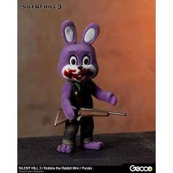 Silent Hill 3 figurine mini Robbie the Rabbit Purple Version 10 cm