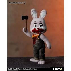 Silent Hill 3 figurine mini Robbie the Rabbit White Version 10 cm