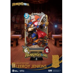 Hearthstone: Heroes of Warcraft diorama PVC D-Stage Leeroy Jenkins 16 cm