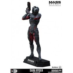 Mass Effect Andromeda figurine Color Tops Sara Ryder 18 cm