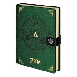 Legend of Zelda carnet de notes Premium A5 Triforce New Version