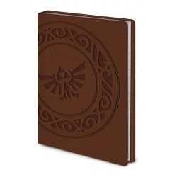 Legend of Zelda carnet de notes Premium A6 Triforce