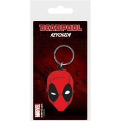 Marvel Comics porte-clés caoutchouc Deadpool Face 6 cm