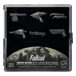 Fallout pack 6 pin's Limited Edition