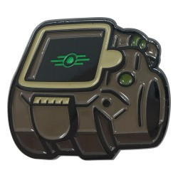 Fallout pin's Vault-Tec Glow In The Dark Logo Limited Edition