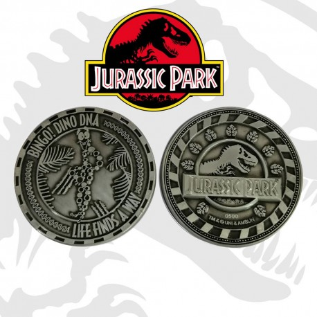 Jurassic Park pièce de collection Mr DNA Limited Edition