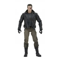 Terminator figurine Ultimate Police Station Assault T-800 (Motorcycle Jacket) 18 cm