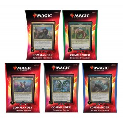 Magic the Gathering Ikoria: Lair of Behemoths présentoir decks Commander 2020 (5) *ANGLAIS*