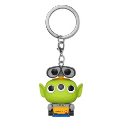 Pixar porte-clés Pocket POP! Vinyl Alien as Wall-E 4 cm