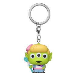 Toy Story porte-clés Pocket POP! Vinyl Alien as Bo Peep 4 cm