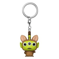 Toy Story porte-clés Pocket POP! Vinyl Alien as Bullseye 4 cm