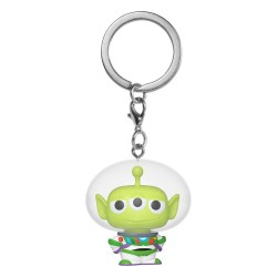 Toy Story porte-clés Pocket POP! Vinyl Alien as Buzz 4 cm