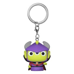 Toy Story porte-clés Pocket POP! Vinyl Alien as Zurg 4 cm