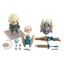 Monster Hunter World Iceborne figurine Nendoroid Hunter: Male Zinogre Alpha Armor Ver. DX 10 cm