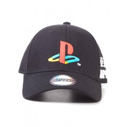 PlayStation casquette Baseball Tech19 Logo