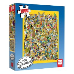 Simpsons puzzle Cast of Thousands (1000 pièces)
