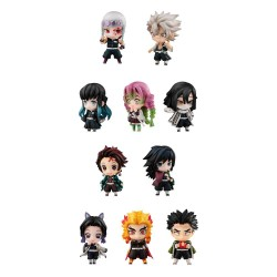 Demon Slayer: Kimetsu no Yaiba pack 10 trading figures Tanjiro & The Hashira Mascot Set A & B 5 cm