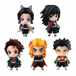 Demon Slayer: Kimetsu no Yaiba pack 5 trading figures Tanjiro & The Hashira Mascot Set A 5 cm
