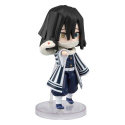 Demon Slayer : Kimetsu no Yaibafigurine Figuarts mini Iguro Obanai 9 cm