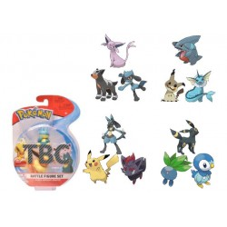 Pokémon série 8 assortiment packs 3 figurines Battle 5-8 cm (4)