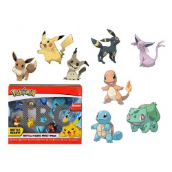 Pokémon série 8 pack 8 figurines Battle 5-7 cm