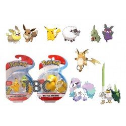Pokémon série 8 assortiment packs figurines Battle 5-8 cm (6)