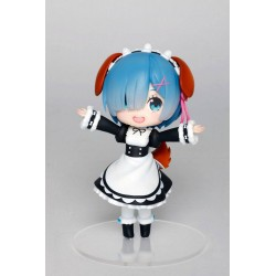 Re:Zero statuette PVC Rem Doll Crystal Dog Ears Version 14 cm