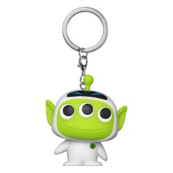Pixar porte-clés Pocket POP! Vinyl Alien as Eve 4 cm