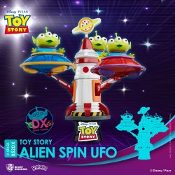 Toy Story diorama PVC D-Stage Alien Spin Ufo 16 cm