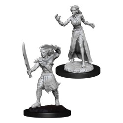 Magic the Gathering Deep Cuts pack miniatures à peindre Vampire Lacerator & Vampire Hexmage