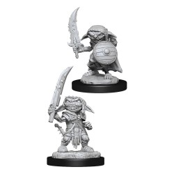 Pathfinder Battles Deep Cuts pack miniatures à peindre Goblin Fighter Male
