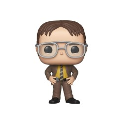 The Office US POP! TV Vinyl Figurine Dwight Schrute 9 cm