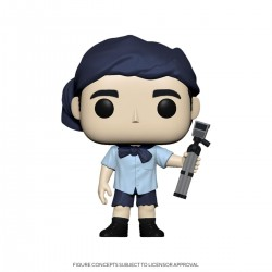 The Office US POP! TV Vinyl Figurine Michael as Survivor 9 cm