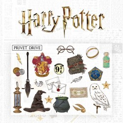 Harry Potter stickers repositionnables Characters