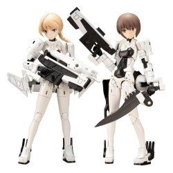 Megami Device figurine Plastic Model Kit 1/1 Wism Soldier Assault Scout 14 cm