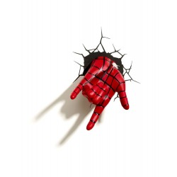 Ultimate Spider-Man lampe 3D LED Spider-Man Hand