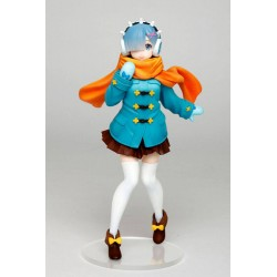 Re:Zero statuette PVC Rem Winter Clothes Ver. 23 cm