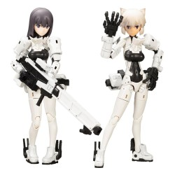 Megami Device figurine Plastic Model Kit 1/1 Wism Soldier Snipe Grapple 14 cm